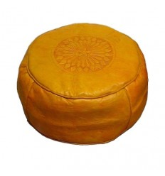 https://babouches.net/gb/moroccan-yellow-moroccan-round-pouffe-pouf-leather-ottoman-poof-pouffe-pouffes-hassock-footstool-beanbag-leather-pillow