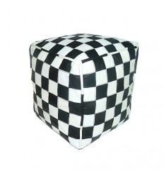 https://babouches.net/gb/black-and-white-leather-pouffe-in-square-designs