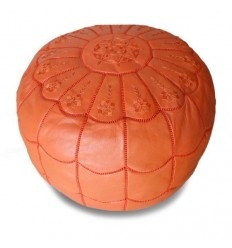 https://babouches.net/gb/moroccan-pouf-leather-ottoman-poof-pouffe-pouffes-hassock-footstool-beanbag-orange-leather-pouffe-moroccan-arch-design