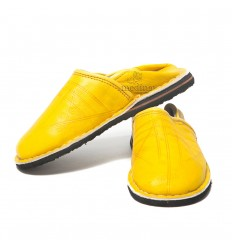 Slipper child Touareg mixed yellow slippers comfortable and strong sturdy slippers
