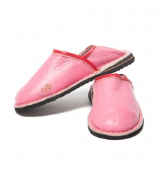 Slipper child Touareg mixed color rose, slippers comfortable and strong sturdy slippers