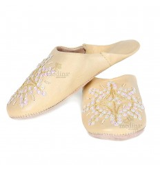Slipper Moroccan original yellow Paloma
