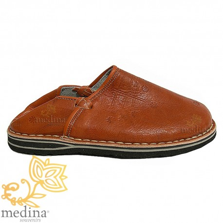 Slipper Tuareg man and woman caramel color