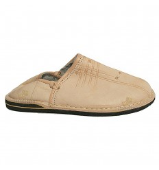 Slipper natural man and woman color Touareg