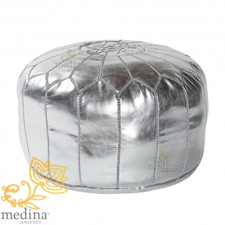 Design pouf Moroccan leather pouf money entirely handmade